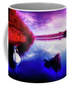 Inquisitive Swan Coffee Mug