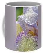 Inside A Bearded Iris Coffee Mug