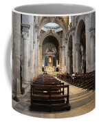 Inside Beautiful Church In Rome Coffee Mug