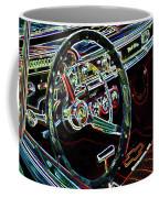 Inside Of A Classic Car Coffee Mug