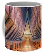 Inside The Cadet Chapel Coffee Mug