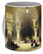 Inside The Church Of The Holy Sepulchre In Jerusalem Coffee Mug