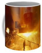 Inside The East-slovakian Steel Mill Coffee Mug by James L. Stanfield
