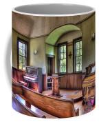 Inside The Oysterville Church  Coffee Mug