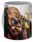 Inside The Puppet Store - Prague Coffee Mug