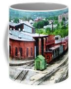 Inside The Train Yard Coffee Mug