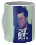 Inspirational Quotes - Motivational - John F. Kennedy 9 Coffee Mug