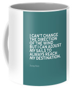Inspirational Quotes Series 012 Jimmy Dean Coffee Mug