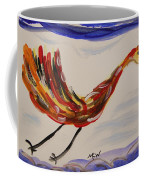 Inspired By Calder's Only Only Bird Coffee Mug