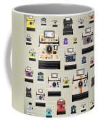 Instant Camera Pattern Coffee Mug by Setsiri Silapasuwanchai