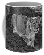 Intensity 3 Bw Coffee Mug