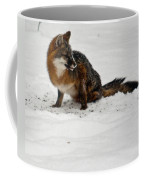 Intent Red Fox Coffee Mug