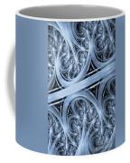 Interchange Cyanotype Coffee Mug