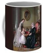 Interior At 'the Chestnuts' Wimbledon Grandmother's Birthday Coffee Mug