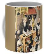Interior Of A Scriptorium Coffee Mug