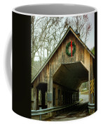 Interior Of Covered Bridge Coffee Mug