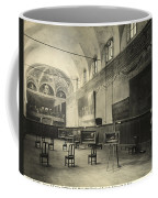 Interior Of The Dining Hall Of The Church Of Santa Maria Delle Grazie Milan Coffee Mug by Alinari