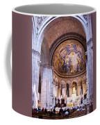 Interior Sacre Coeur Basilica Paris France Coffee Mug