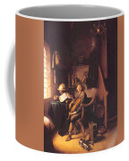 Interior With A Young Violinist 1637 Coffee Mug