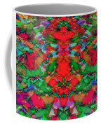 Interlocking Ghosts Red Coffee Mug