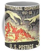 International Geophysical Year Stamp Coffee Mug