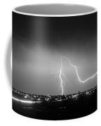Intersection Black And White Coffee Mug