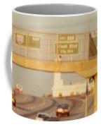 Interstate 44 West At Exit 287, Kingshighway Exit, 1980 Coffee Mug