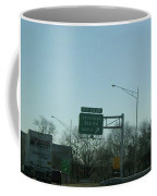 Interstate 70 East At Exit 242b, Jennings Sta. Rd North Exit, 1999 Coffee Mug