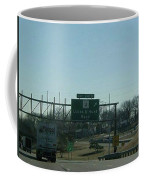 Interstate 70 East At Lucas And Hunt Rd Exit, 1999 Coffee Mug