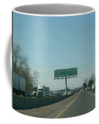Interstate 70 West Approach Route 180 Exit, 1999 Coffee Mug