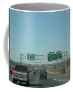 Interstate 70 West At Exit 231b, Earth City Expwy North Exit, 1999 Coffee Mug