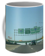 Interstate 70 West At Exit 232, Interstate 270 Exits, 1999 Coffee Mug