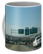Interstate 70 West At Exit 234, Route 180 West Exit, 1999 Coffee Mug