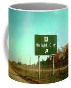 Interstate 70 West At Route H Exit, 1976 Coffee Mug
