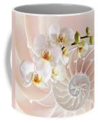 Intimate Fusion In Soft Pink Coffee Mug