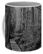 Into A Magical World Black And White Coffee Mug