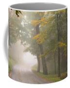 Down The Mountain, Into The Fog Coffee Mug