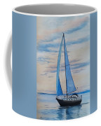 Into The Setting Sun Coffee Mug