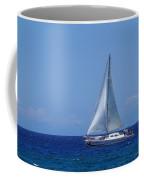 Into The Wild Blue Ocean Coffee Mug