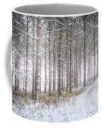 Into The Woods 3 - Winter At Retzer Nature Center  Coffee Mug