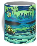 Inuit Love Arctic Landscape Painting Coffee Mug