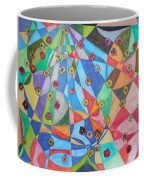 Invasion Of The Peonies Coffee Mug