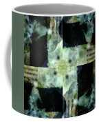 Invented Places, Mandala Series, Path With Flowers Coffee Mug