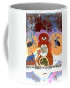 Inverted Graffiti Coffee Mug