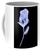 Inverted Sketch Of A Rose Coffee Mug