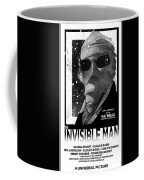 Invisible Man Movie Poster 1933 Coffee Mug