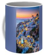Oia Sunset Coffee Mug