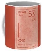 Iodine Element Symbol Periodic Table Series 053 Coffee Mug