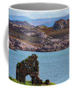 Iona Ruins And Mull Hills Coffee Mug