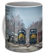 ioneer Lines PREX 912 and 806 at Evansville Indiana Coffee Mug